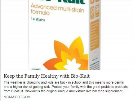 Keep the Family Healthy with Bio-Kult