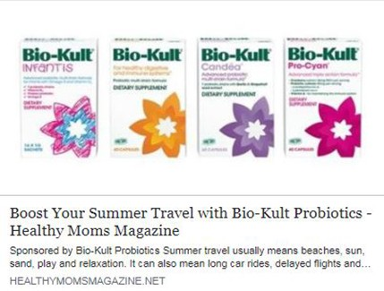 Boost Your Summer Travel with Bio-Kult Probiotics